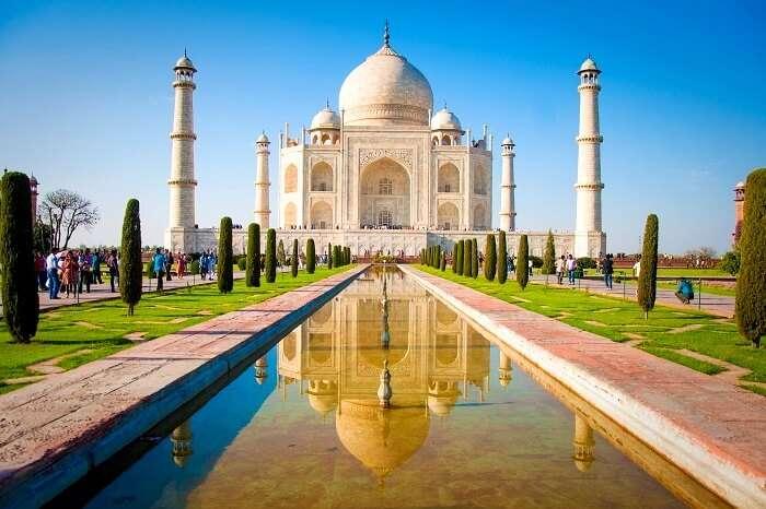 Un día en Taj Mahal