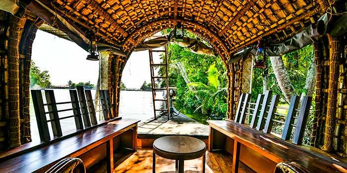 ¿Por qué los remansos de Kerala son tan populares entre los turistas?