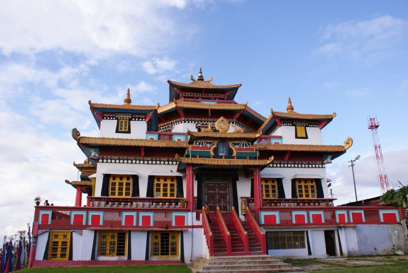 Monasterios budistas famosos en la India