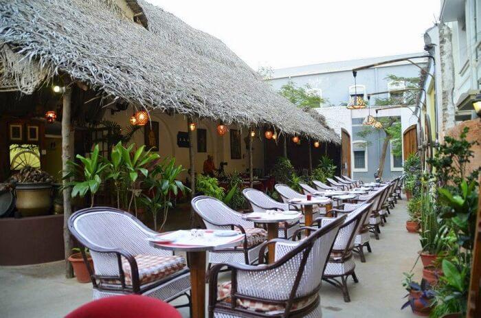 Cocina de Pondicherry