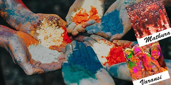 Los mejores lugares para celebrar Holi en el Norte de la India