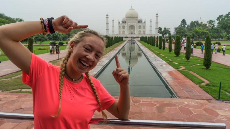Viaje de mochilero a la India