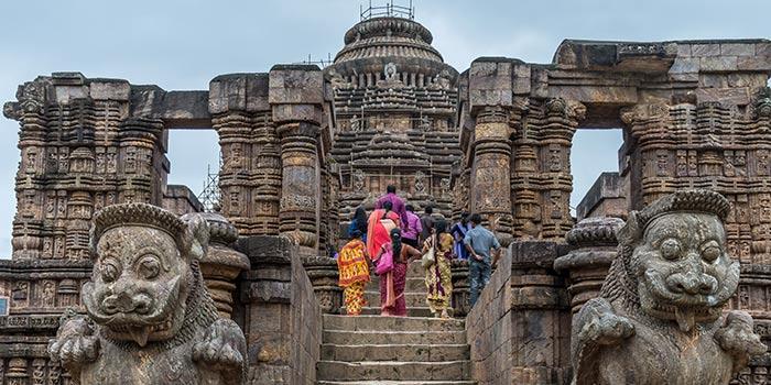 Fuertes y Monumentos en la India