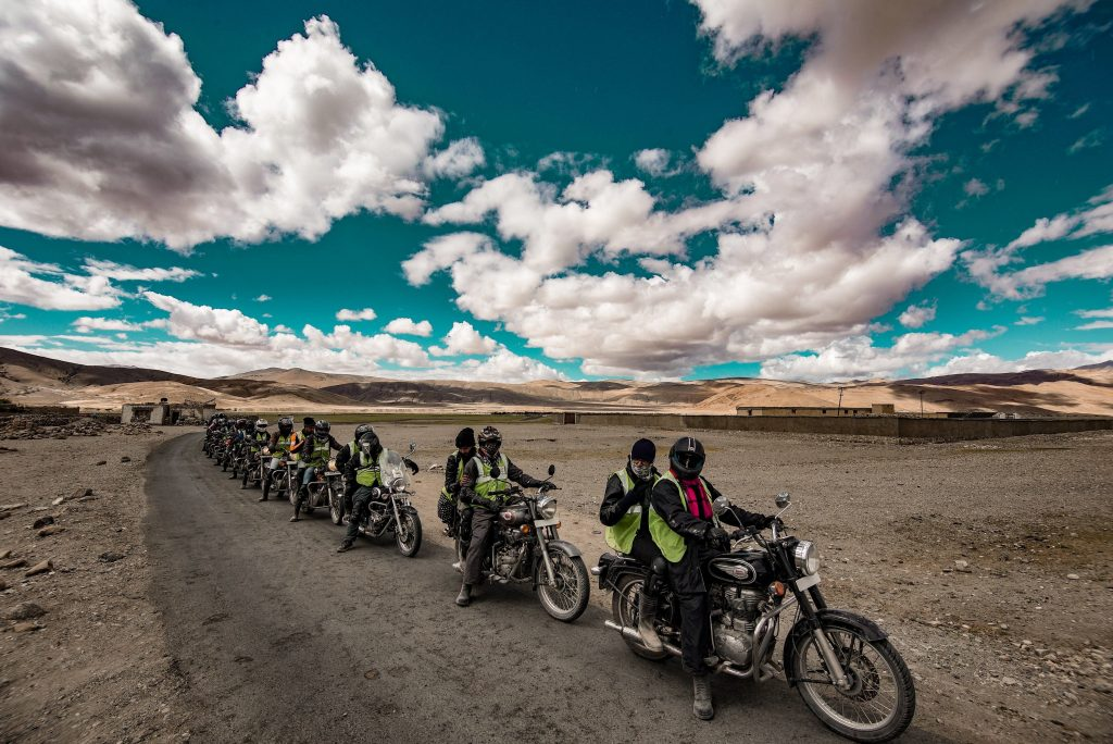 Excursiones en bicicleta por la india