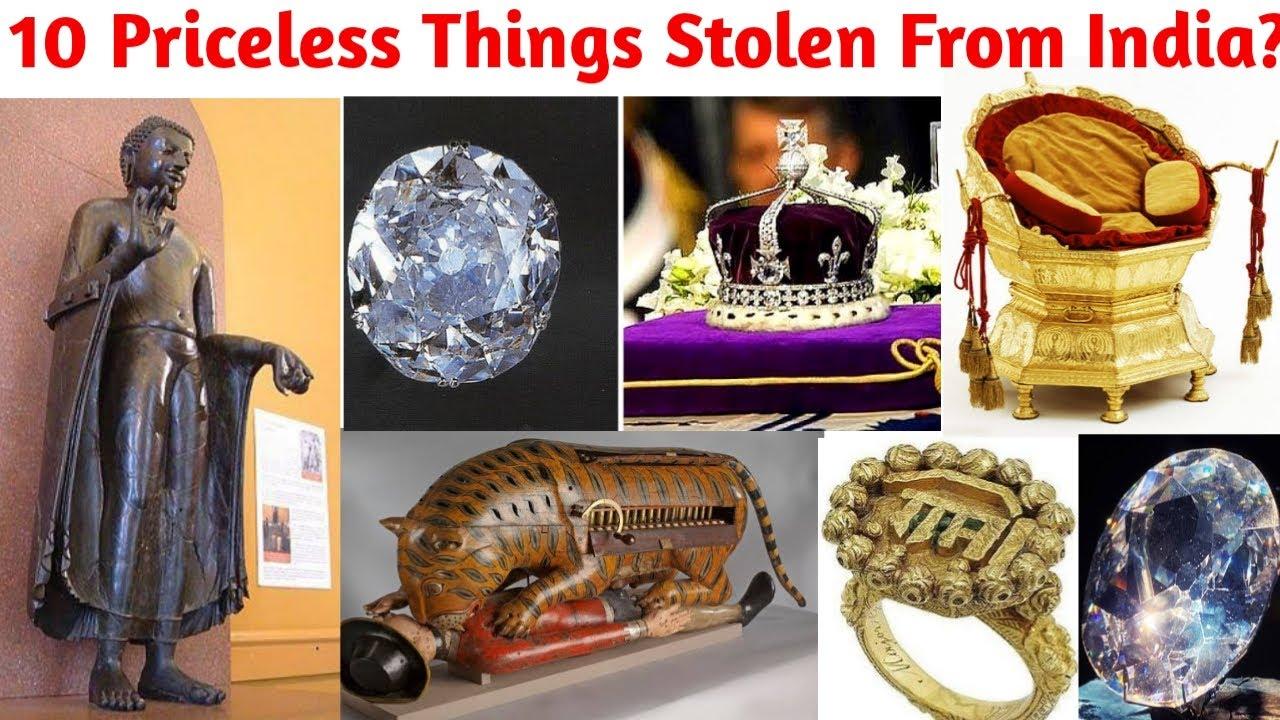 10 cosas invaluables robadas de la India