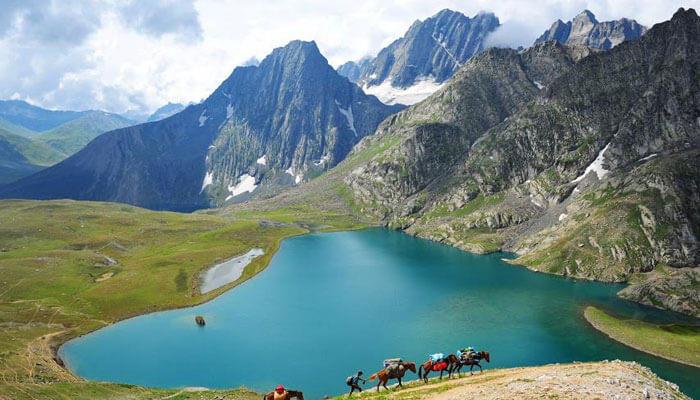 Impresionantes lagos de la India que le sorprenderán