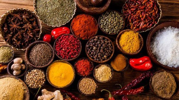 Papel de las especias en la India