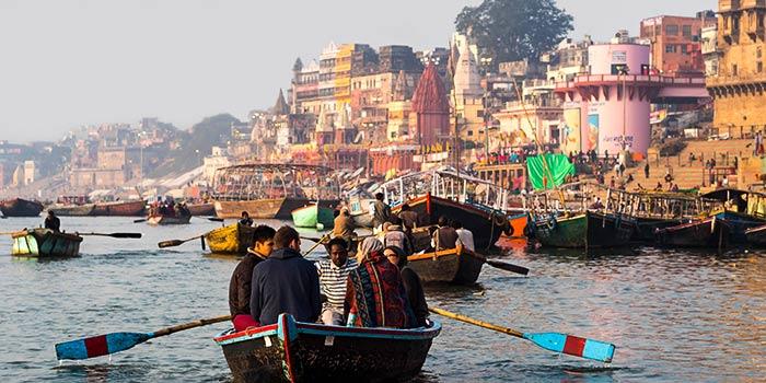 Las Ciudades Espirituales de la India