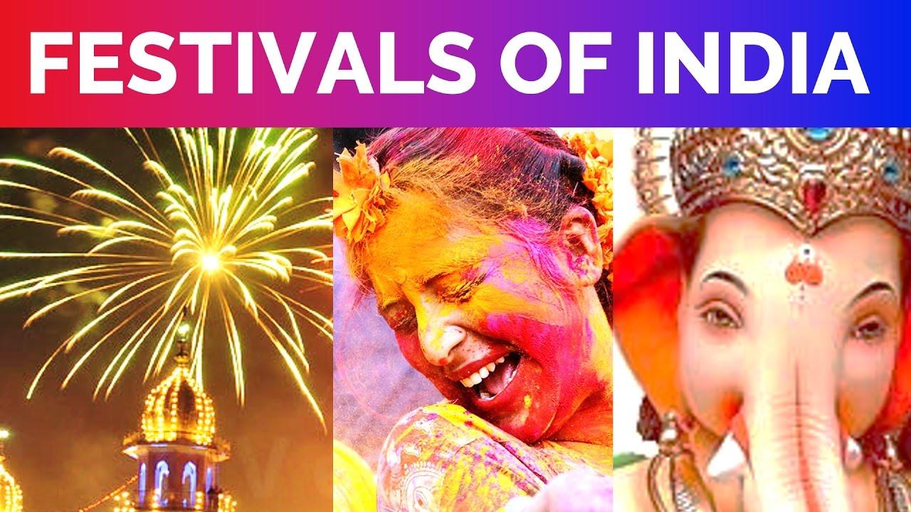 Festivales más populares celebradas en India