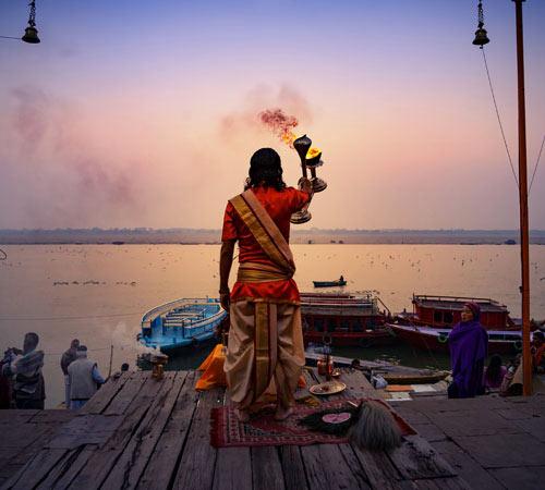 Triángulo de Oro con Khajuraho y Varanasi