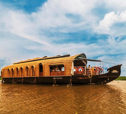 hermosas fotos de la casa en kerala Paquete De Vacaciones De Kerala En Casa Flotante India Viajes